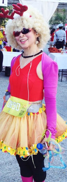 Ms. Tessa Prieto-Valdez at the McDonald's McHappy Day Fun Run