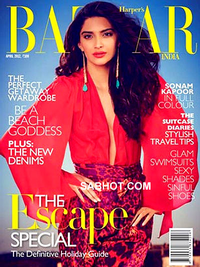 Sonam Kapoor Harper Bazaar India April 2012  - Sonam Kapoor Harper Bazaar India April 2012