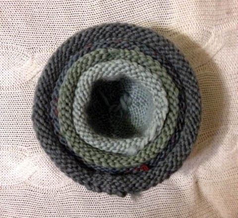 Nordiculture Knitted Felted Nesting Bowls