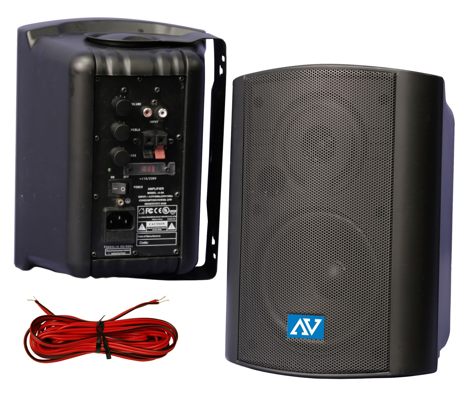 Custom Mountable Horn Speaker Systems Alternative To Paging Project 116 Subwoofer Amp The Amplifier Is Battery Powered Or Can Be Plugged In Using Ac Power For Convenience Surface Mount