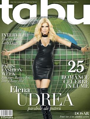 Elena Udrea Minister of Romanian