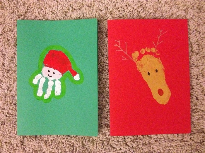 ds cards last year - Homemade Christmas Cards