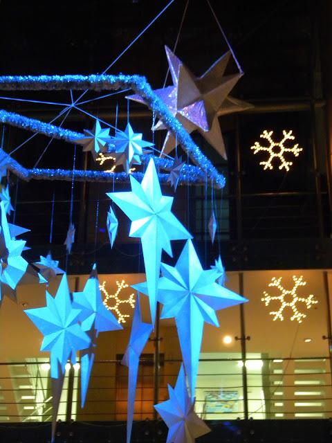 Большие звёзды и снежинки для украшения помещений!