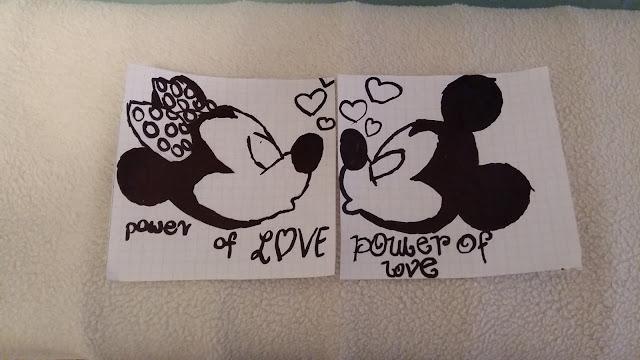 [WALENTYNKI] Karteczki walentynkowe w stylu Myszki Mikki!