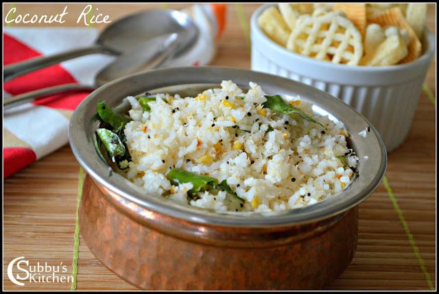 Kanyakumari Coconut Rice
