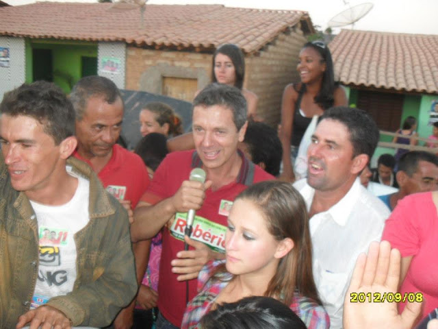 Correligionários de ivonilton Viera apelam para agressões físicas e verbais para impedir realização do comício do candidato Robério Cunha: