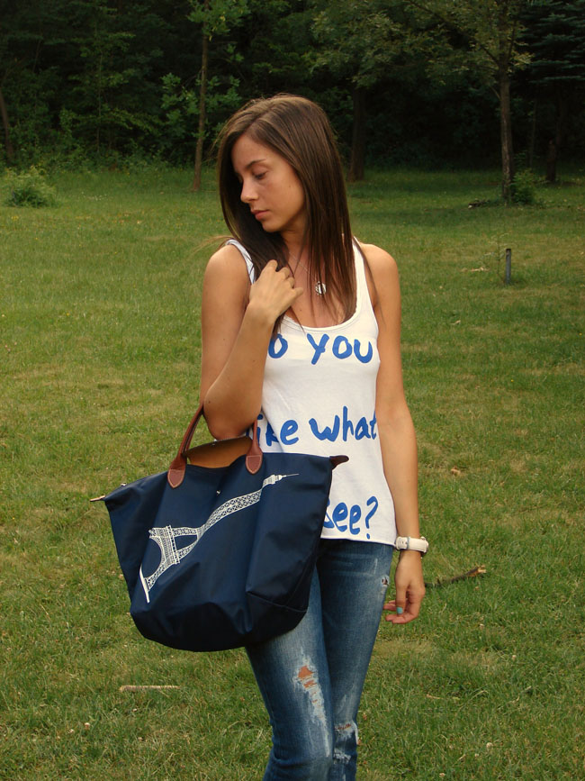 zara top,zara tank top, bershka shoes, tiffany&co, cardigan h&m , longchamp bag, chictopia, lookbook, madanska, maya madanska