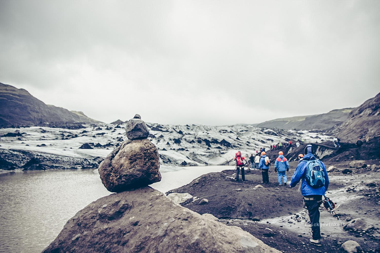 Ansicht des Sólheimajökulls