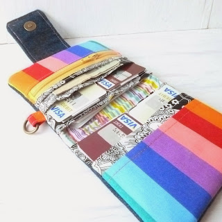 Handmade Fabric Wallet