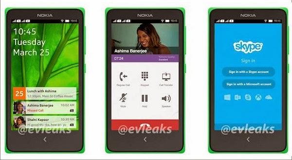 Tampilan Antar Muka Hadir di Nokia Android