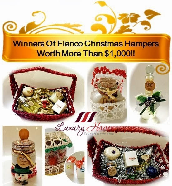 luxury haven flenco christmas hamper giveaway
