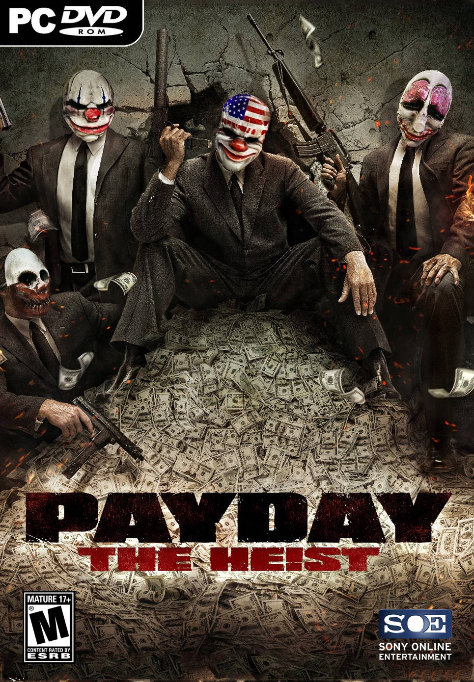 Payday: The Heist FullRip BLACKBOX 610300219