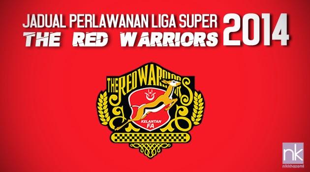 Jadual Liga Super Jdt 2014