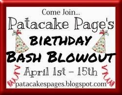 Patacake Page's Birthday Bash Blowout