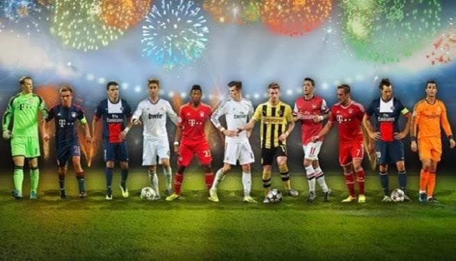 UEFA Best Team of The Year 2013