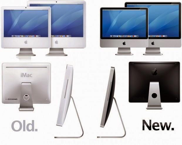 начало алюминиевой эры моноблоков iMac