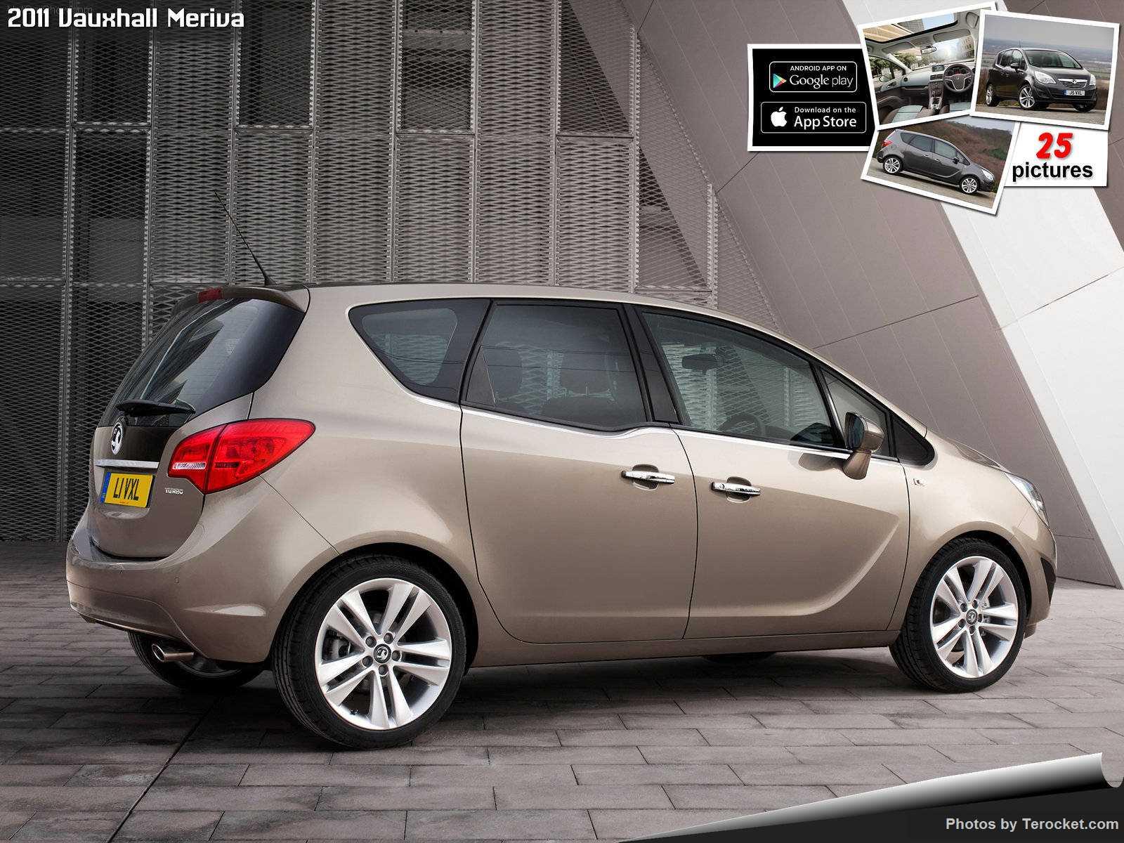 Hình ảnh xe ô tô Vauxhall Meriva 2011 & nội ngoại thất
