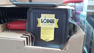 Lodge Cast Iron Grill Pan has great heat retention