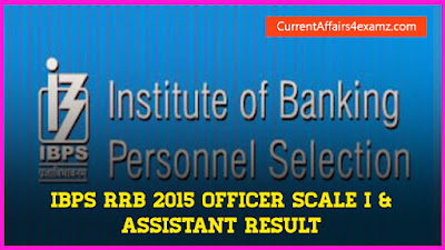IBPS RRB 2015 Result