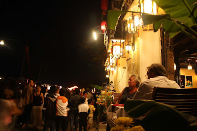 Hoi An ancient town - the night in the twentieth century