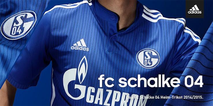 Adidas Schalke 15-16 Kits Revealed - Footy Headlines