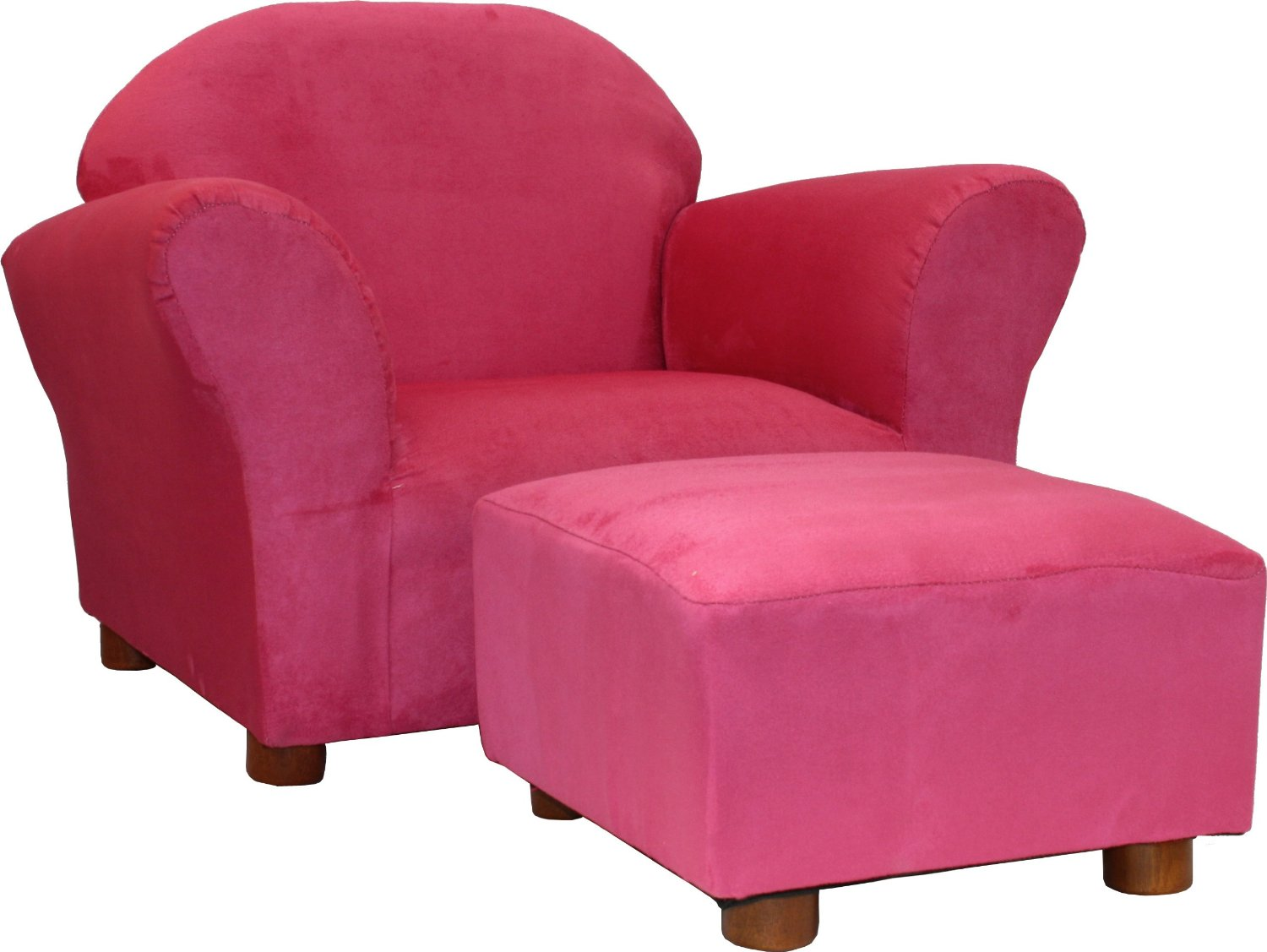 Charmant Turning Standard Into Super: Solid Color Kidsu0027 Chair And Ottoman Sets For  Boys U0026 Girls