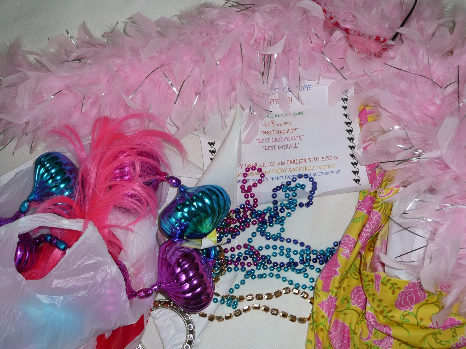 Fantasy Fest Key West - beads, baubles and fancy dress