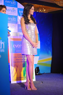 Nargis Fakhri  Pictures in Short Dress at Everyouth Naturals Face Wash Launch  88).JPG