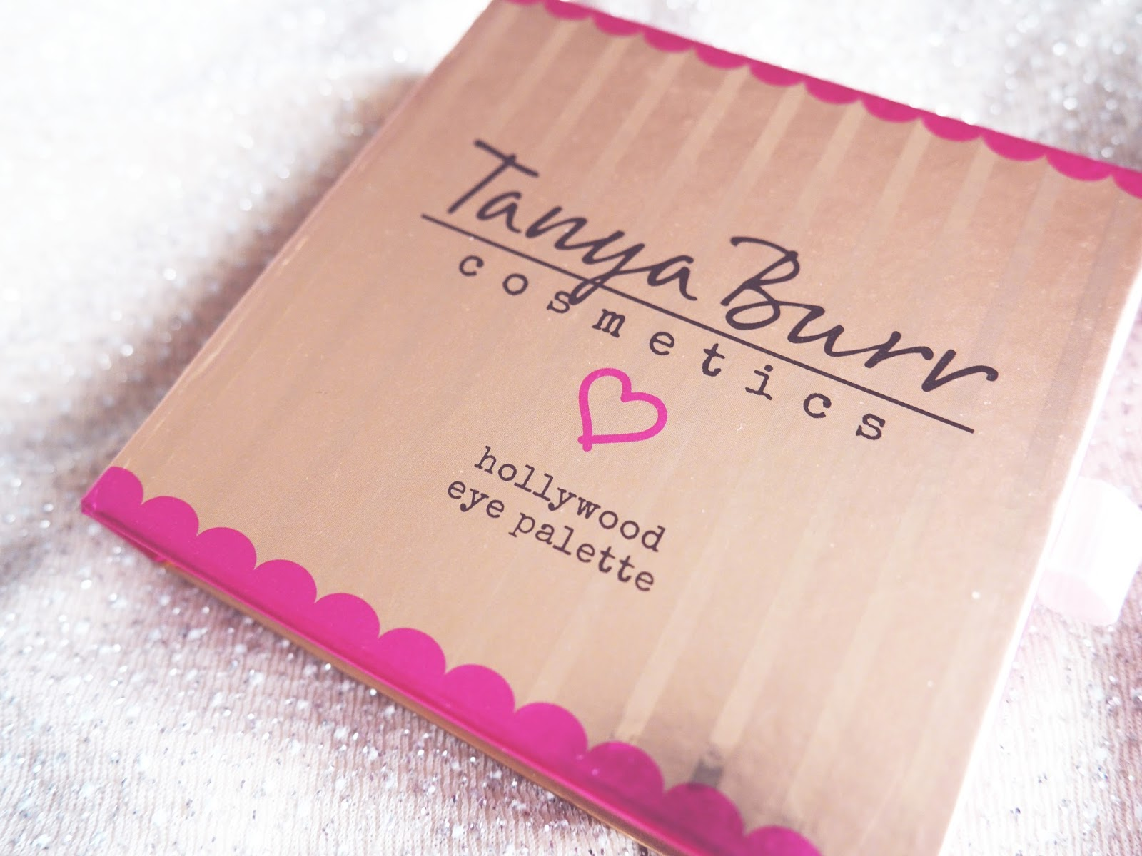 Tanya Burr Cosmetics Hollywood Eye Palette Packaging