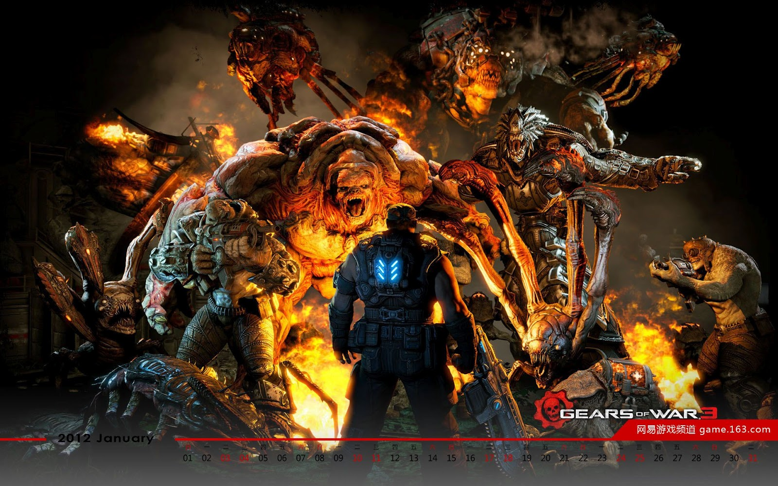 Xbox Wallpapers and Backgrounds Xbox UK - gears of war 3 xbox game wallpapers