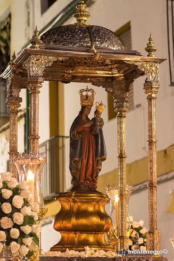 Regina mater procesi n magna mariana de c rdoba 27 de - Persianas lavirgen cordoba ...