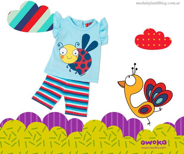 owoko niñas primavera verano 2014