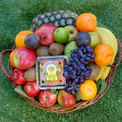 garden fresh fruit basket