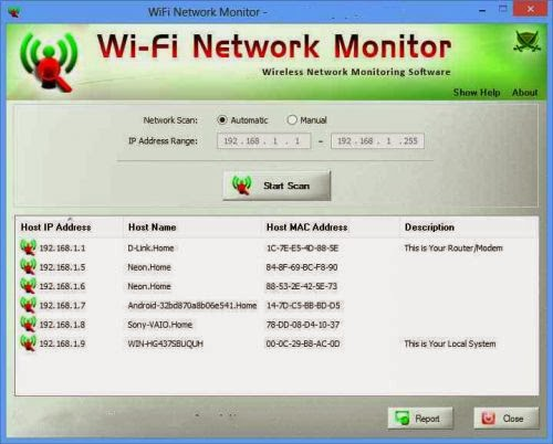 Portable WiFi Network Monitor v1.0 Final