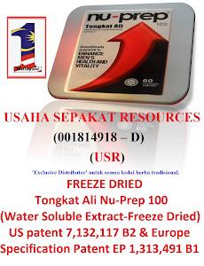 """Usaha Sepakat Resources """"Exclusive Distributor"""" produk Nu-Prep untuk semua pengedar herba Malaysia"""