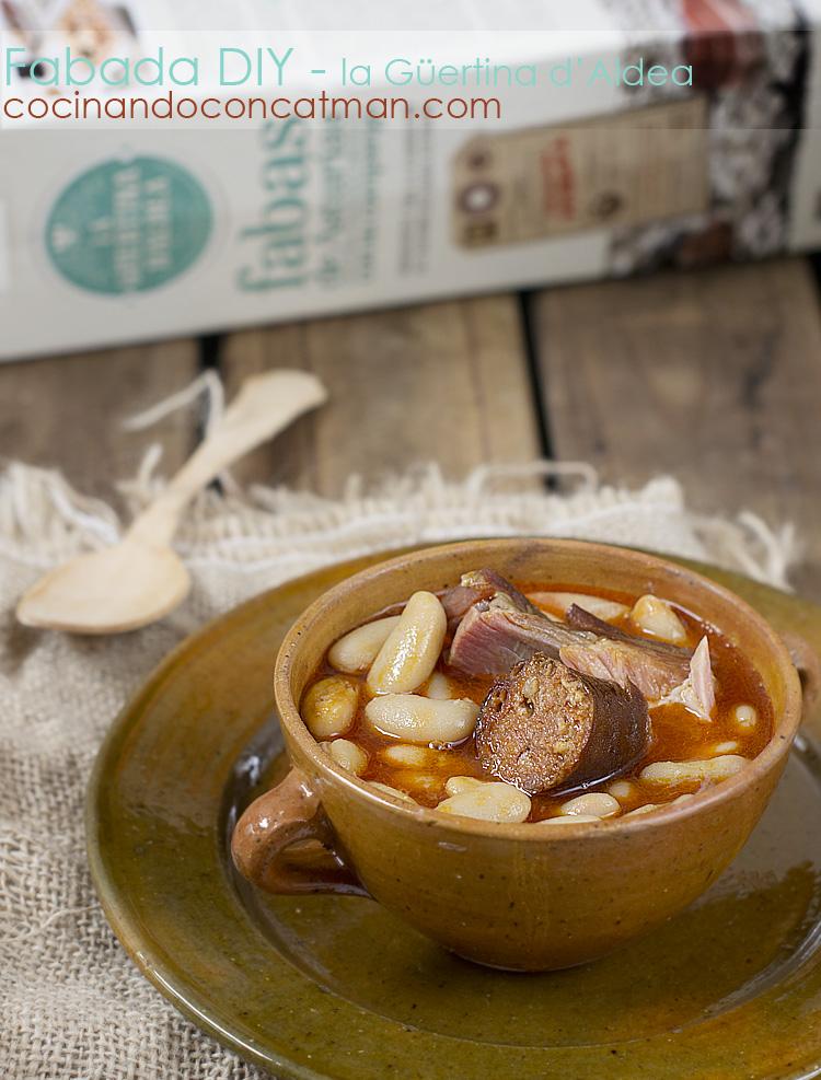 receta de fabada asturiana en olla exprés