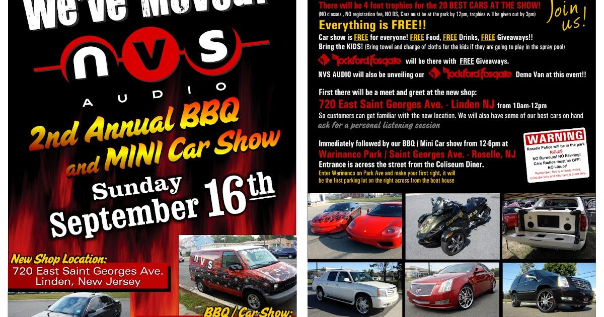 Car Show Give Aways
