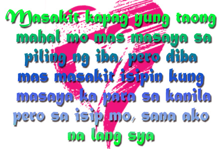 Best Tagalog Broken Hearted Love Sayings and Quotes