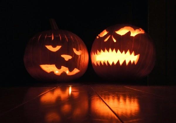 Spooky Halloween Jack O'Lanterns