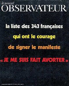 Manifeste des 343 Nouvel Observateur