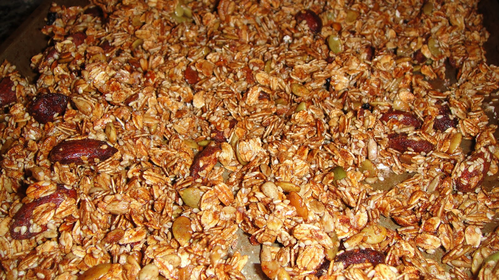 how to make my own granola