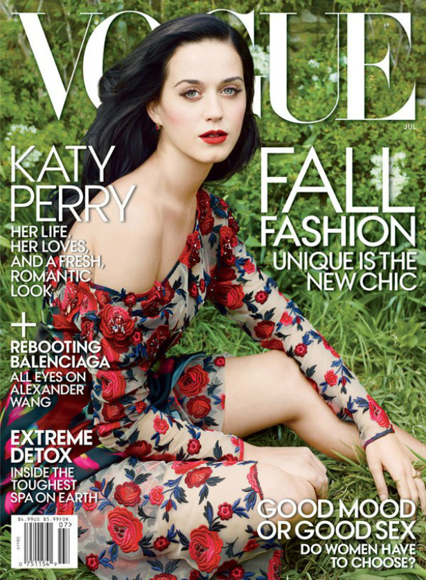 "Katy Perry es la nueva portada de ""Vogue"""