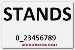 Rebus Puzzle Stands