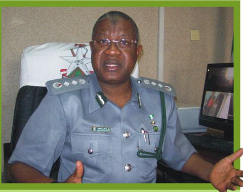 nigerian custom officer kidnapped