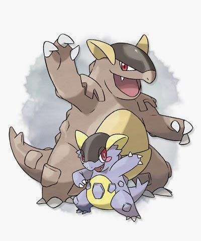 Pseudo mew osselait le b b de kangourex - Pokemon mega kangourex ...