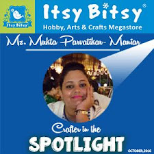 "Itsy Bitsy""Crafter In The Spotlight"""