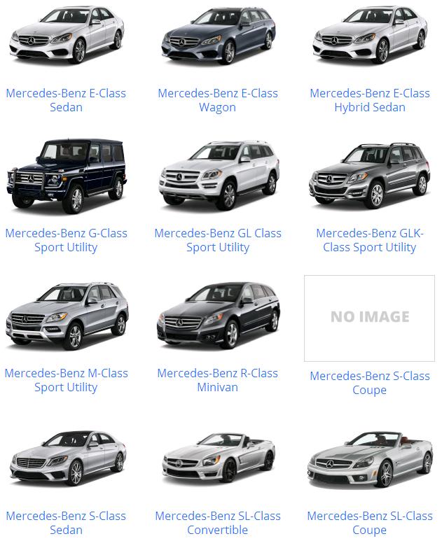 Các dòng xe Mercedes & mẫu xe Mercedes Benz từ trước đến nay