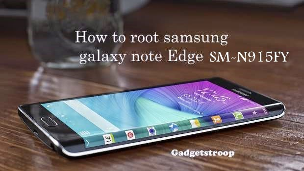 Root samsung galaxy note edge SM-N915Fy