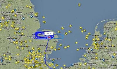 Vlucht DAL99 van Delta Airlines in problemen