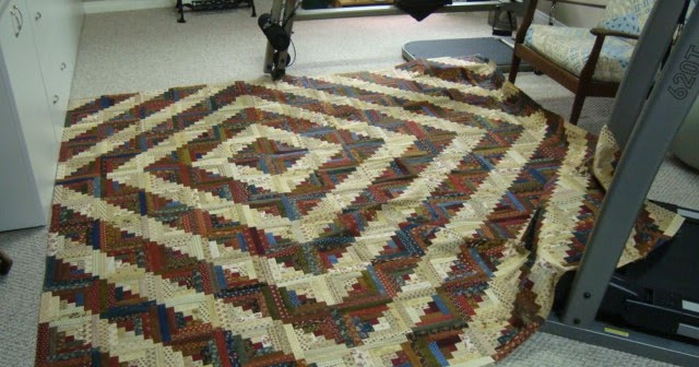 Barn Raising Quilt Pattern Free Knitting : Thread Head: Log Cabin and Hardanger